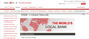 HSBC - the world´s local bank