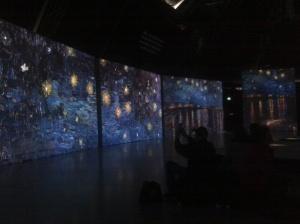 Van Gogh Alive exhibition - Tel Aviv