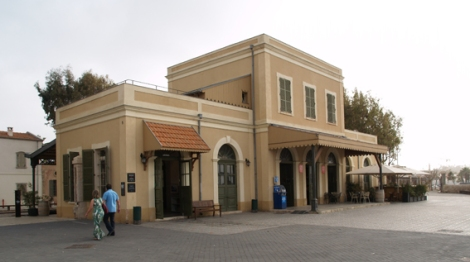 old railway - main building