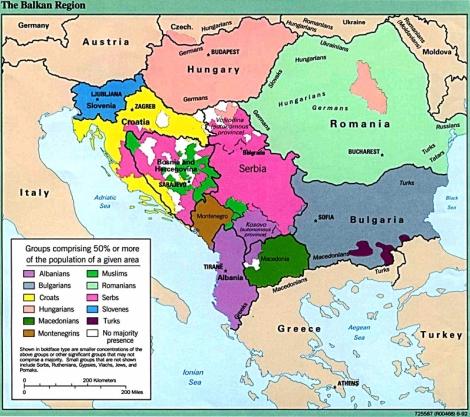 balkans ethnic