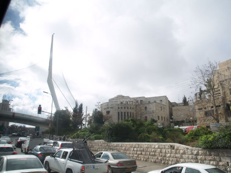 jerusalem - bridge