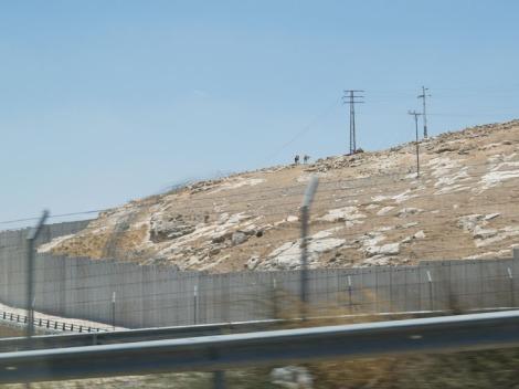 maale adumim & separation wall