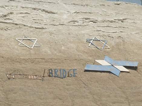border land art