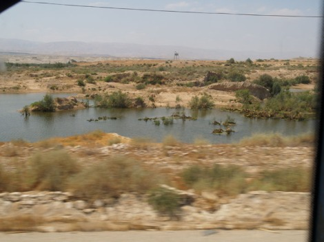 once the river jordan