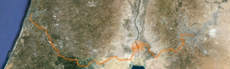 route tel aviv - amman