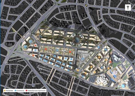 abdali site plan