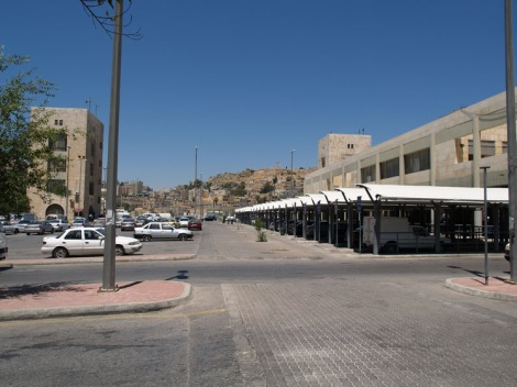 new raghadan bus station used as parking