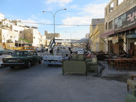 furniture shop at jabal hussein, amman