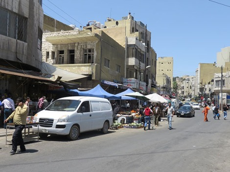 market - foot of jabal ashrafiyyah