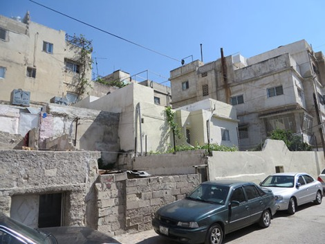 street on jabal ashrafiyyah